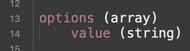form datalist options